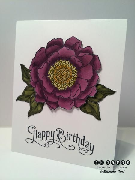 Razzleberry Blended Bloom by jrk912 - Cards and Paper Crafts at Splitcoaststampers
