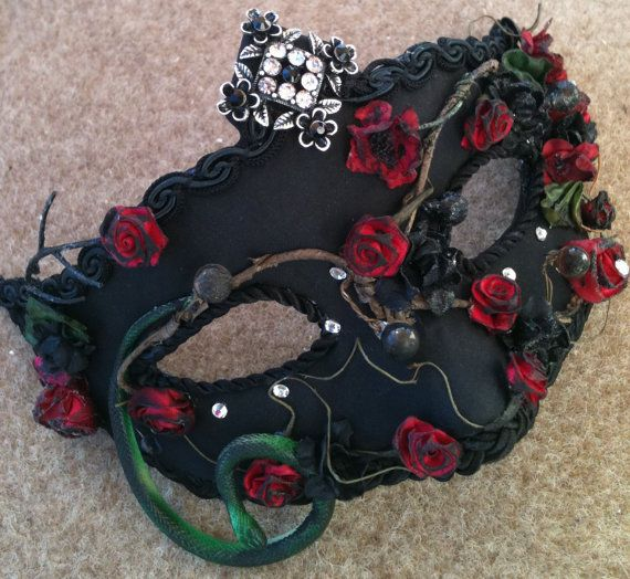 You Choose Mistress  Custom Venetian Style by MaskedEnchantment, $69.00