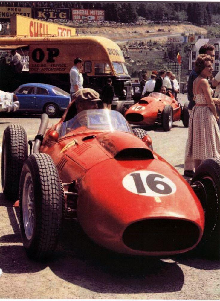 1958 GP Belgii (SPA) Ferrari Dino 246 (Mike Hawthorn)