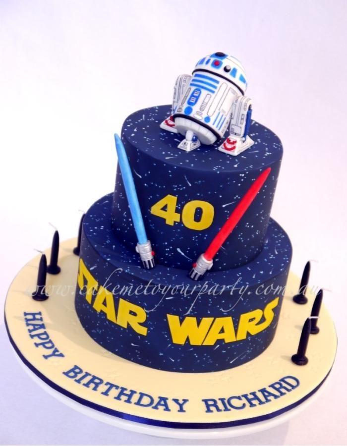Star Wars Cake R2-D2