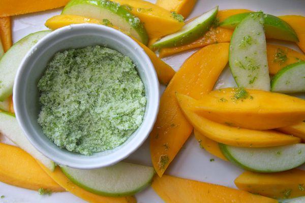 mango apple salad with sugared lime zestLimes Zest, Fruit Salad, Bento Boxes, Shutterbean, Mango Apples, Mint Sugar, Apples Salad, Boxes Options, Limes Vest