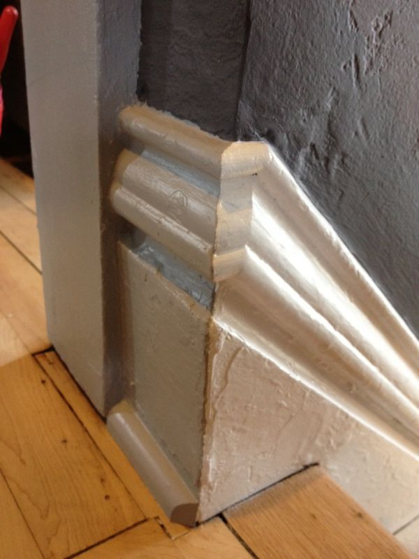 Great Grey Baseboard Molding For Wooden Stairs Area   Baseboards And Trim    Pinterest   Baseboard, Moldings And Foyer Furniture