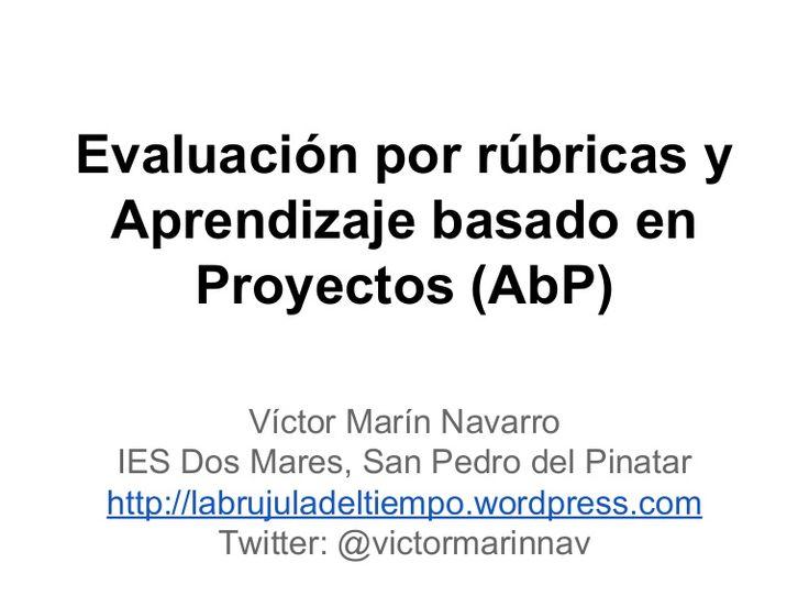 """Presentación de la ponencia realizada en las Jornadas """"Reinventando la Educación con las TIC"""" organizadas por el CPR Región de Murcia el 5 de febrero de 2015."""