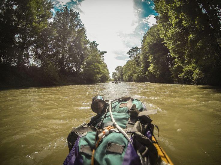 #kajaktour #kajak #river #wanderlust #bushcraft