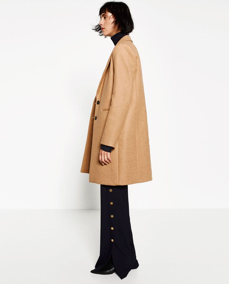 Image 4 of MASCULINE COAT from Zara