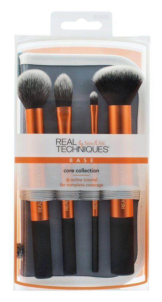 Amazon   Real Techniques Coffret Essentiels 4 Pinceaux de Maquillage   Sets