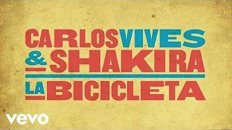 Carlos Vives, Shakira - La Bicicleta (Cover Audio) - YouTube