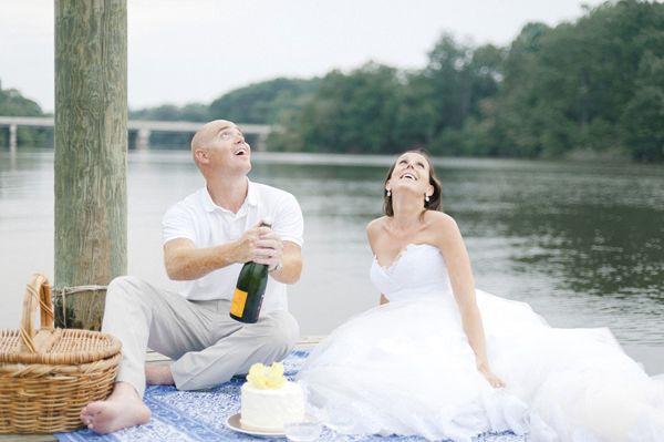Re-wear your wedding dress!