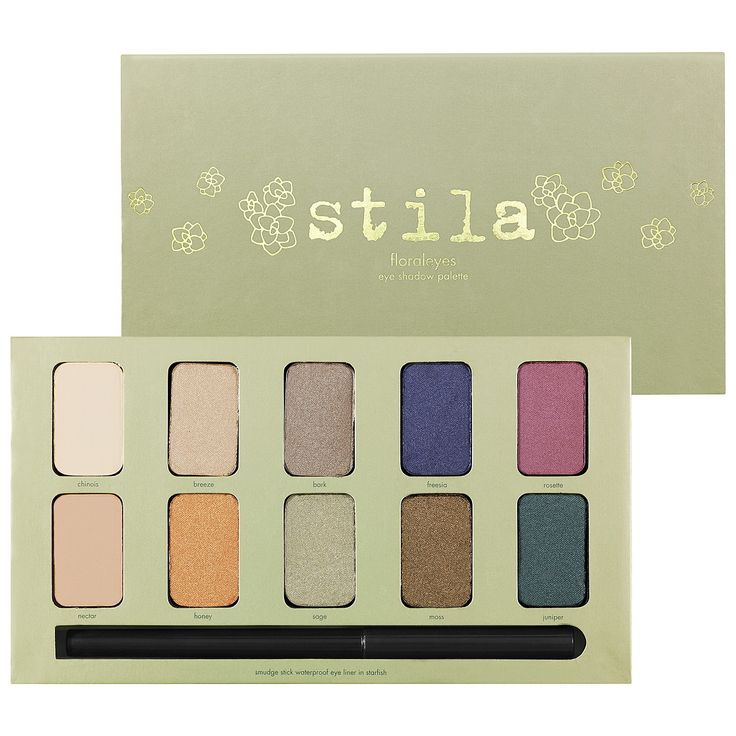 Stila Floraleyes Eye Shadow Palette in In the Garden