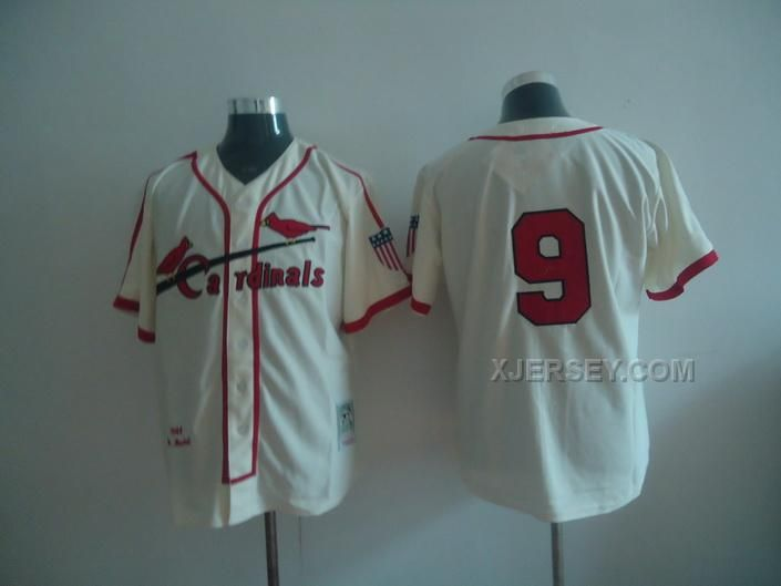 http://www.xjersey.com/cardinals-9-enos-slaughter-cream-jerseys.html CARDINALS 9 ENOS SLAUGHTER CREAM JERSEYS Only $34.00 , Free Shipping!