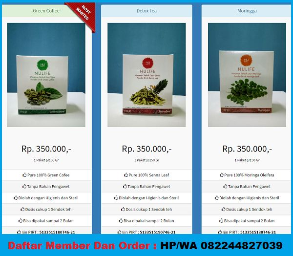 harga nulife,produk nulife,nulife