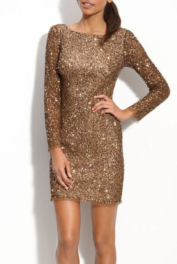 25  best ideas about Gold cocktail dress on Pinterest | Gold dress ...