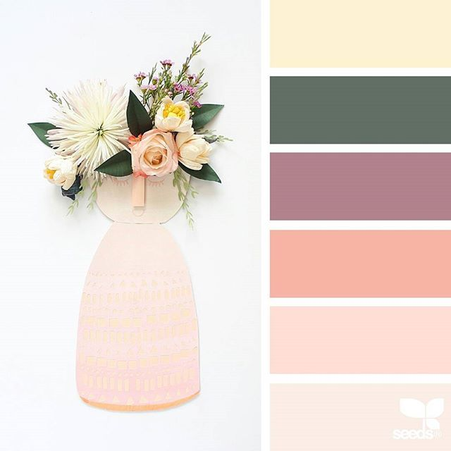 today's inspiration image for { spring tones } is by @brittanirosepaper ... thank you, Britanni, for sharing your wonderful image in #SeedsColor !