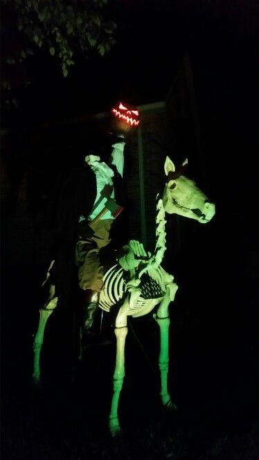 Halloween headless horseman
