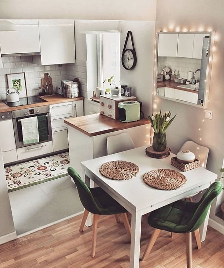 Interior Design Kitchen Design Small Small Kitchen Decor Small Apartment Kitchen