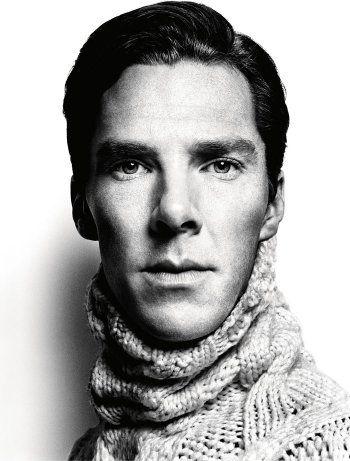 Benedict Cumberbatch by Platon for GQ Magazine, 2013