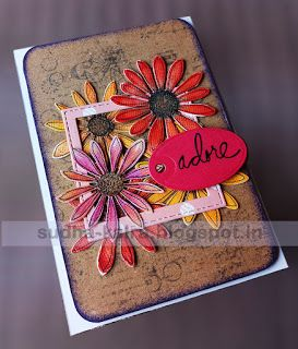 Adore...  For full details,check here- http://sudha-kalra.blogspot.in/2017/09/adorefloral-creation.html