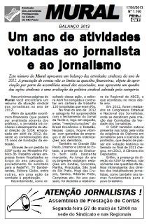 Sindicato dos Jornalistas de SP realiza assembleias para aprovação de contas