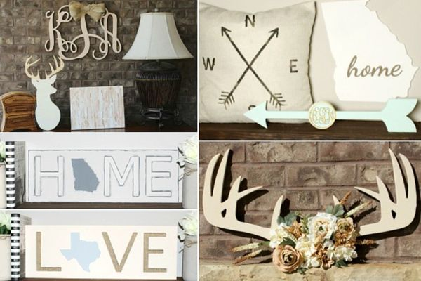 whimsy timber home decor unfinished wood for your home events b whimsy