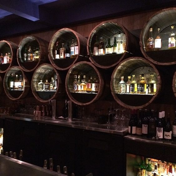 Grain whiskey bar @playaprovisions                                                                                                                                                      More: