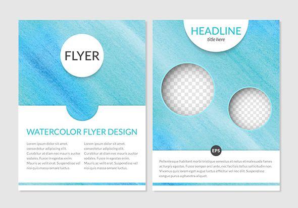 Бесплатные шаблоны флаеров для вашего дизайна