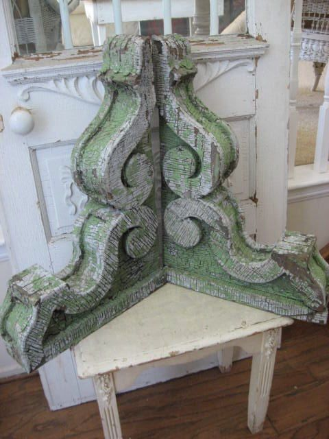 green corbels.  My favorite thing of all time
