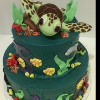 42 best Cakes Turtles images on Pinterest Sea turtle cakes