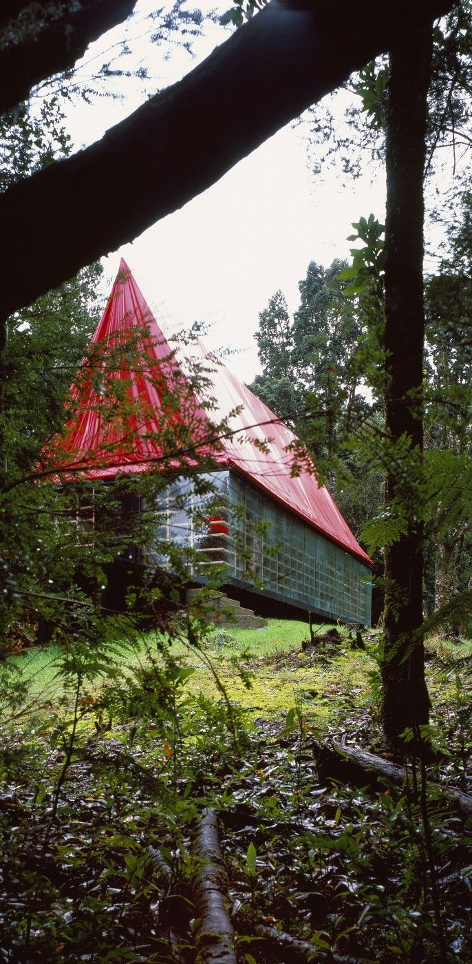 House in Chiloe, Chile