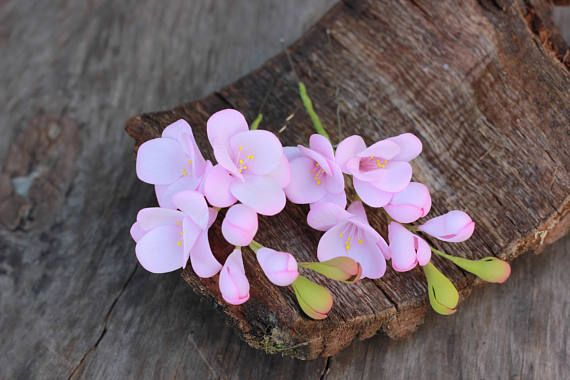 Flower hair pins Hair vine flower Hair vine jewelry Bridal