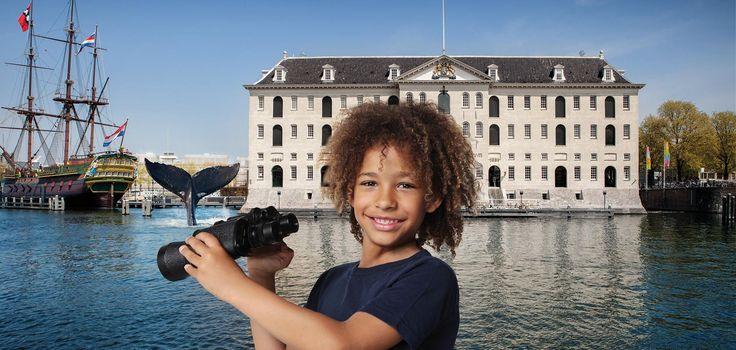 Houden jouw kids van walvissen? Zet dan koers naar Het Scheepvaartmuseum, Museum in 't Houten Huis, het Zaans Museum en Ecomare. Hier zijn er in de zomervakantie (8 juli t/m 3 september) allerlei leuke walvisactiviteiten voor het hele gezin.