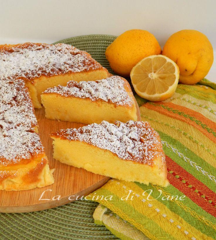 torta al limone ricetta