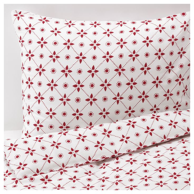 IKEA - VINTER 2015, Duvet cover and pillowcase(s), Twin, , The polyester/cotton blend is easy to care for since the fabric is less liable to shrink and crease.