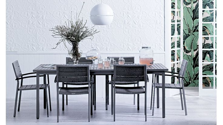 Arki Extension Balcony Dining Table | Domayne