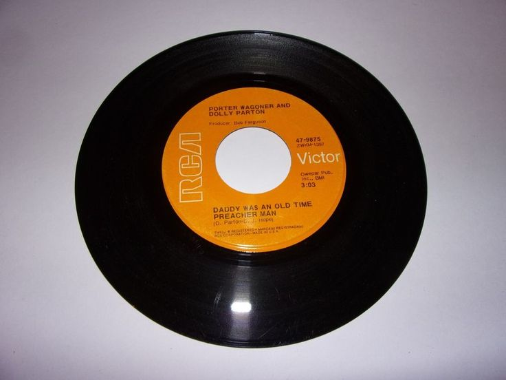 Porter Wagoner & Dolly Parton: Daddy Was An Old Time Preacher Man / 45 Rpm/1970 #NashvilleSoundTraditionalCountry