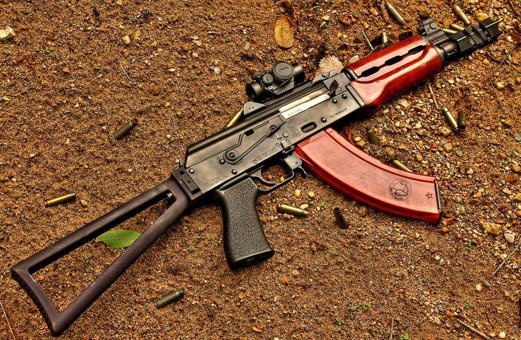 Zastava M92 Form 1 Short Barrel RifleLoading that magazine is a pain! Get your Magazine speedloader today! http://www.amazon.com/shops/raeind