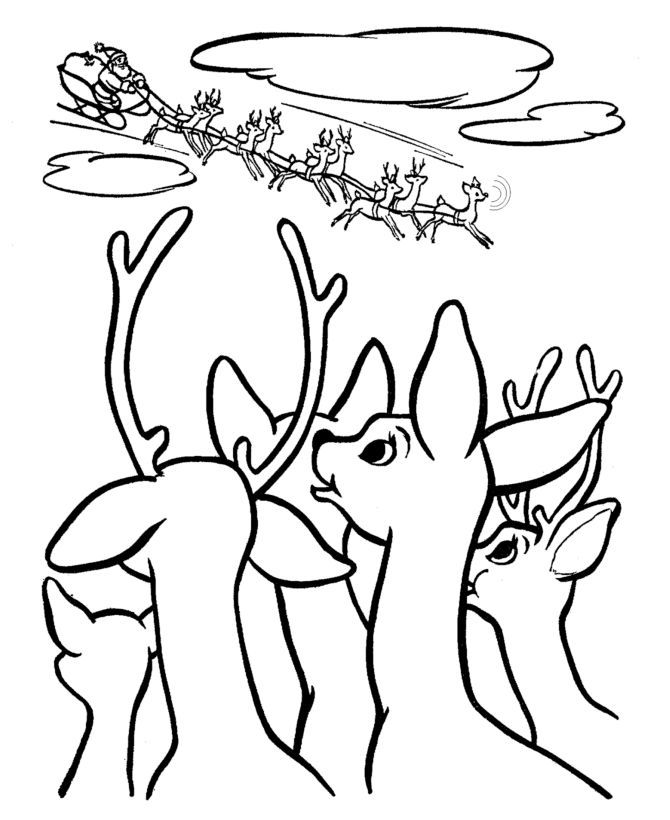 25 best Christmas Coloring Pages images on Pinterest  Christmas