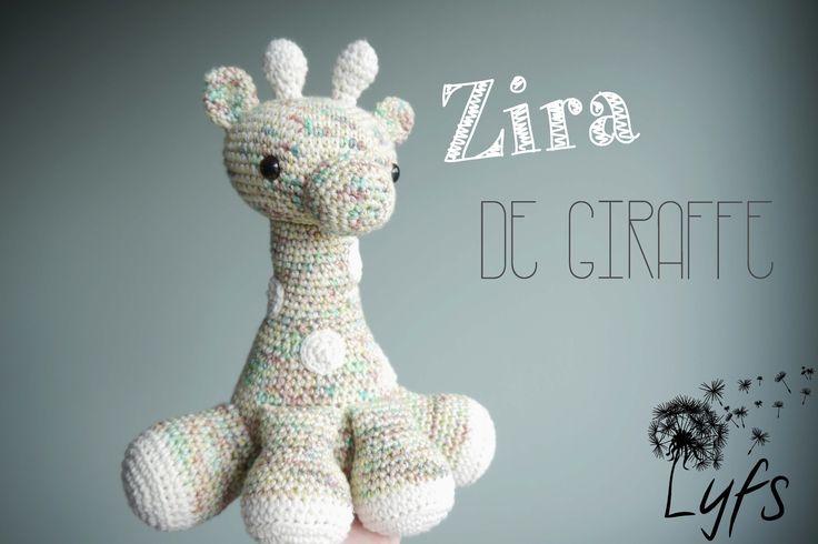 Crochet giraffe - Lyfs by Audrey