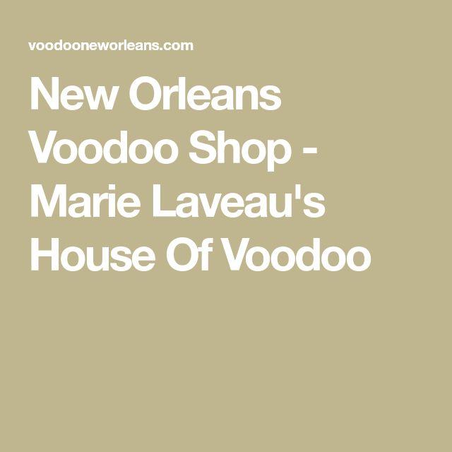 New Orleans Voodoo Shop - Marie Laveau's House Of Voodoo
