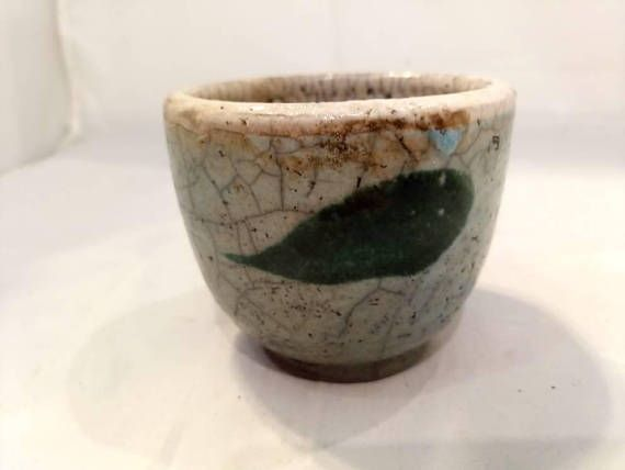 Check out this item in my Etsy shop https://www.etsy.com/listing/568544626/raku-pottery-cup