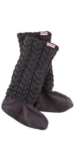 Hunter Boots Long Cuff Welly Socks $65 #christmas #wishlist #giftguide