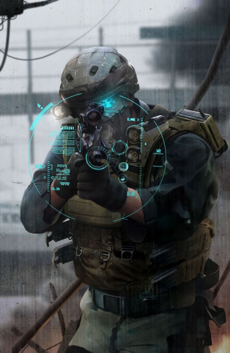 "Pretty much everything written  by Tom Clancy, I'm a fan of ..   D.B.ART: Concept Art - Ghost Recon ""Future Soldier"""