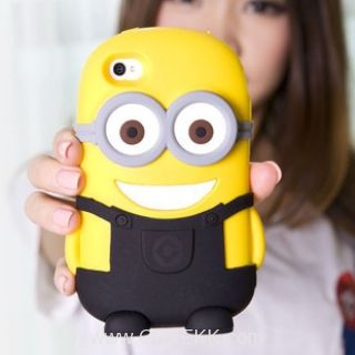 Despicable Me 3D Minions case for iphone 4/4S -from greekk.com