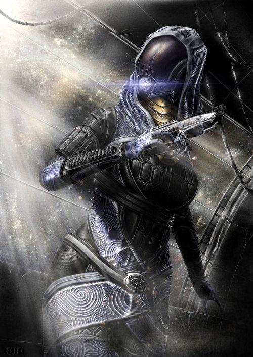 Tali - Fan Art - Mass Effect 3