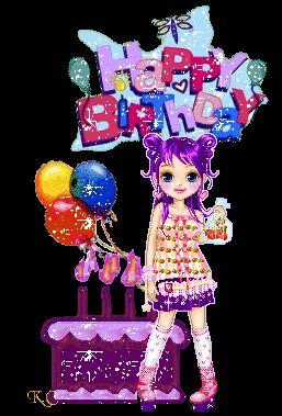 Fijne verjaardag plaatjes, krabbels en animaties 3 van tekstplaatjes.US
