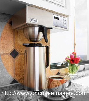 Under Counter Coffee Maker Brewmatic An The E Saver Built In