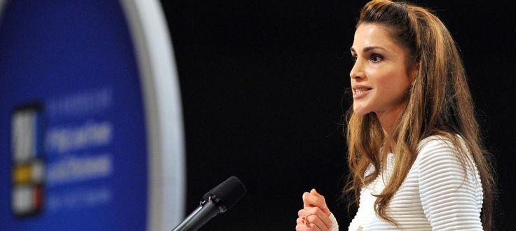 Una reina que entra en politica: Carta de Rania para defender los derechos de Gaza