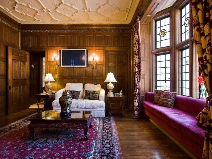 Amusing Tudor Style Home Interior Design Ideas With White