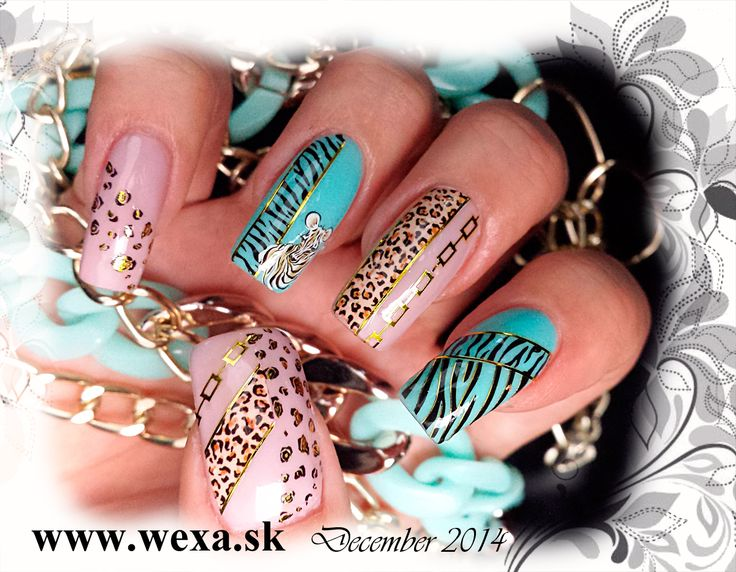 Safari watersticker Nails WEXA