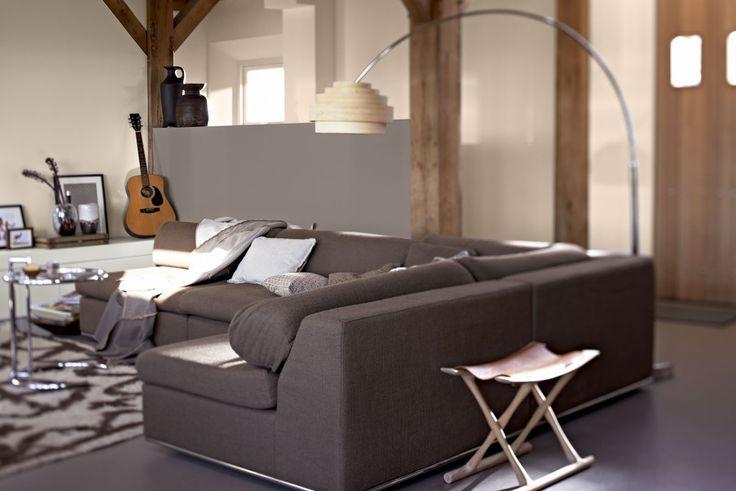 Relaxed australia woonkamer inspiratie flexa verf grijs grey tinten livingroom mijn - Kleur verf moderne woonkamer ...