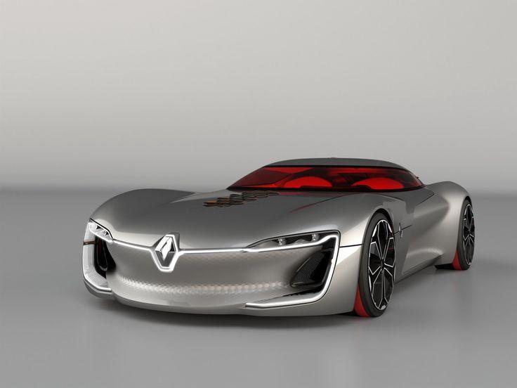 2016 Paris Motor Show – Renault Trezor Concept